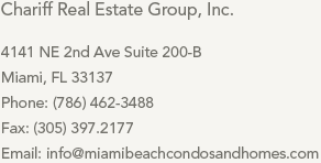 Contact Miami Beach Condos and Homes